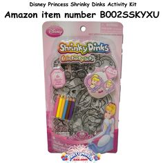 Disney Princess Shrinky Dinks Activity Kit