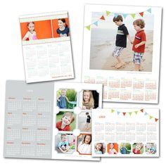 Photographer Cafe — Playful Client Calendar Set (2013)
