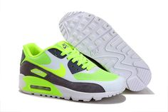 best service b029b 3188a Dames AIR MAX 90 Hyperfuse W020 Wit Groen Zwart [MODELNIKE 00498] - €76.99. Nike  Air Max TnNike ...