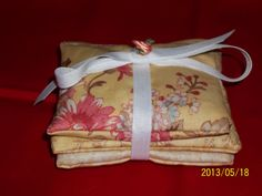Sachet Set of 3 Lavender Floral  Scented by WreathClothsbyDee, $12.00
