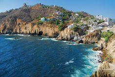 Acapulco en México.