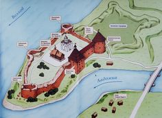 """Staraya Ladoga on the Volkhov River, 15 kilometers from Lake Ladoga, perhaps, is the oldest city in Russia and could serve as a """"trading gate"""" on the road from the Varangians to the Greeks. It was first mentioned in chronicles in connection with Russia calling on the Varangian Rurik and his brothers."""