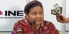"""VIDEO: Tras recibir 10 MIL DÓLARES del INE, Rigoberta Menchú acusa a padres de Ayotzinapa de """"ocultar la verdad"""""""