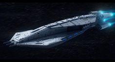 Star Wars Mandalorian Cruiser by AdamKop.deviantart.com on @DeviantArt