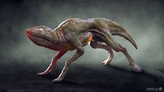 Here is some of the concept work for the demogorgon from Stranger Things. Stranger Things Creature, Stranger Things Monster, Stranger Things Halloween, Creature 3d, Creature Concept, Creature Design, Alien Creatures, Fantasy Creatures, Science Fiction