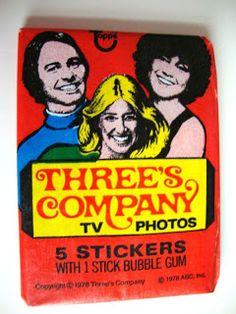 Kogward's Garage Sale: 1978 Three's Company TV Photo Trading Cards