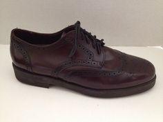 Sebago Lites Shoes Mens Size 10 E Wide 10E #Wingtip Brown Full Brogue Oxford USA #Sebago #Oxfords