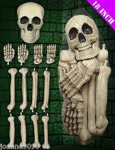 Halloween #graveyard skeleton skull net bag of #plastic fake #bones decoration pr,  View more on the LINK: http://www.zeppy.io/product/gb/2/190882012257/