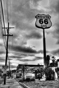 Gas Station by Cornelia Kurtew, via Flickr