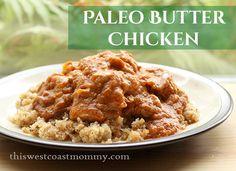 SCD Butter Chicken (*Use SCD legal spices / tomato paste & serve over cauliflower 'rice'...)