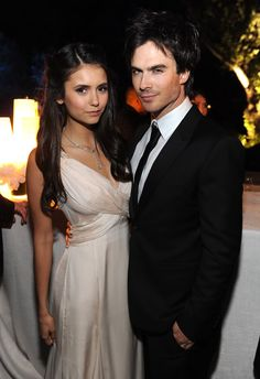 Nina Dobrev e Ian Somerhalder- these 2 need to reproduce and create a gorgeous litter of babies!