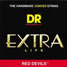 Red Electric Guitar Strings