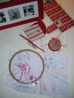 By Redwork in Germany on Flickr #needlepoint #quilting