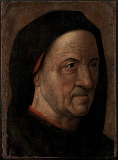 Cercle d'Hugo van der Goes, Portrait of a Man, ca. 1470-75. New York, Metropolitan Museum.
