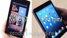 The clash of two powerhouses has started in the tablet world that involves Google and Apple, although the Nexus 7 tablet is meeting a competitor nearly its own size in the form of an iPad mini. People looking for a full review of the iPad mini are out of luck...