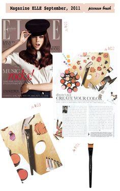 press Magazine ELLE September, 2011 www.piccassobeauty.net