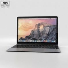 Awesome Apple Macbook 2017: Apple MacBook Space Gray 3D Model .max .c4d .obj .3ds .fbx .lwo .stl @3DExport.c...  3D Electronics Check more at http://mytechnoworld.info/2017/?product=apple-macbook-2017-apple-macbook-space-gray-3d-model-max-c4d-obj-3ds-fbx-lwo-stl-3dexport-c-3d-electronics