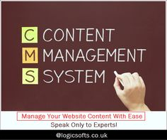 A #CMS or a ' #ContentManagementSystem' quite literally allows you to control and manage the content within your website - without any technical training. Stop depending on your website developers for any website amendment. Just give us a call and we'll teach you for FREE. For more details visit - goo.gl/8AzuG7 via Logicsofts Solutions Ltd Call Now - +44 20 7993 5898 Email - info@logicsofts.co.uk
