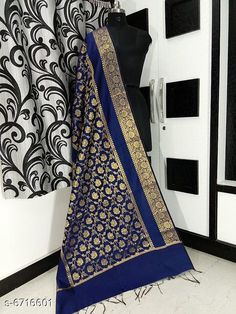 Dupattas Banarasi cotton silk dupatta Fabric: Banarasi Cotton Silk Pattern: Zari Work Multipack: 1 Sizes:Free Size (Length Size: 2.25 m)  Country of Origin: India Sizes Available: Free Size   Catalog Rating: ★4.2 (5673)  Catalog Name: Alluring Attractive Women Dupattas CatalogID_1070724 C74-SC1006 Code: 833-6716601-708
