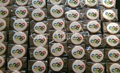 Olympic Games Cookies for DFS Galleria Auckland's Olympic Games themed Event, August 2016