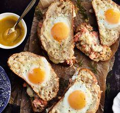 Lämpimät lohileivät   Soppa365 Kala, Sandwiches, Eggs, Bread, Breakfast, Ethnic Recipes, Morning Coffee, Brot, Egg