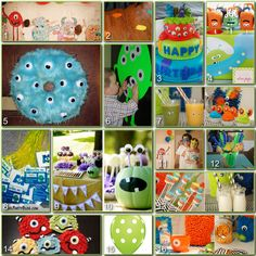 Disney Donna Kay: Disney Party Board - Monsters Inc.
