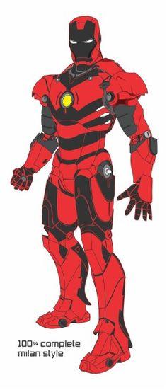 Ironman ac milan style
