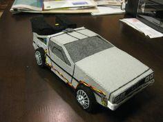 DeLorean Plushie
