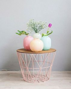 ferm LIVING Wire Basket and Wire basket top…