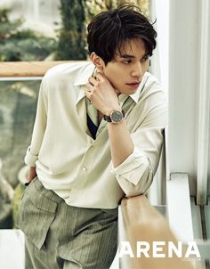 """Fresh off of playing the Grim Reaper in """"Goblin"""", Lee Dong Wook remains as charming as ever as he takes to the March cover for Arena Homme Plus. How does he stay so calm amidstall the …"""
