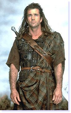 an analysis of the portrayal of william wallace in braveheart by mel gibson Mel gibson's braveheart is an utterly passionate epic about scottish hero william wallace, a commander who, from 1927 to 1305 ad, led revolt against the ruling.