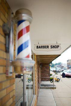barber shop by monitorpop, via Flickr