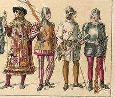 Vestimentas de la Edad Media