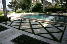 grass as grout landscaping