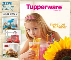 The NEW Tupperware Catalog is Online! The new Tupperware Summer 2014 catalog is available online now! Come look at all of the new products added... http://my2.tupperware.com/victoriastewart