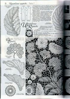 January 2014 Duplet Special XXL Release Irish Laces 7 Russian crochet patterns m. Irish Crochet Patterns, Crochet Motifs, Freeform Crochet, Crochet Chart, Thread Crochet, Crochet Designs, Crochet Ideas, Crochet Leaves, Crochet Flowers