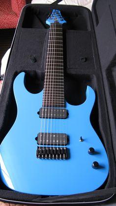Nice electric blue 8