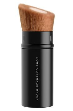 The Core Coverage foundation brush was designed for barePRO Powder Foundation. This retractable brush is part of the bareMinerals makeup brush collection. Pressed Powder Foundation, Foundation Brush, Bare Minerals, Makeup Tools, Makeup Brushes, Makeup Tricks, Radical Skincare, Juice Beauty, Best Makeup Products