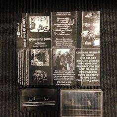 Bootleg tape, Born in the hands of doom. Rehearsal tape of February 1987, number 37/ 66.