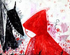 #so65  #cappucetto rosso Capucceto Rosso by Madelaine Frochaux