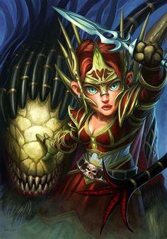 Photography/world Of Warcraft Mage Fan Art   Kulis Kocaeli World Of Warcraft, Warcraft 1, Character Portraits, Character Art, Character Ideas, Female Gnome, Warcraft Characters, Vanellope Von Schweetz, Cartoon Video Games