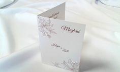 egyedi grafikus esküvői meghívó 075.1 Place Cards, Container, Place Card Holders