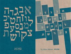 Modern Hebrew alphabet
