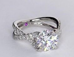 twisted halo diamond - Google Search
