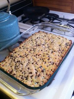 Lazy Day Cookies. 1 box cake mix. 2eggs. 5 tbs of melted butter. 2 cups of choc chips. Mix and bake.