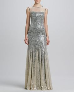 Sequined+Lace-Overlay+Mermaid+Gown+by+Erin+by+Erin+Fetherston+at+Neiman+Marcus.