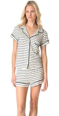 Everyjay striped  sleepwear  pajamas Striped Pyjamas 293fd929c