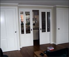 binnendeuren en schuifdeuren Decor, Decorating Tips, Storage, Home, Ensuite, Tall Cabinet Storage, Interior, New Homes, House