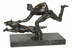 1930s Bronze Study after Renee Sintenis - James Miles Ltd