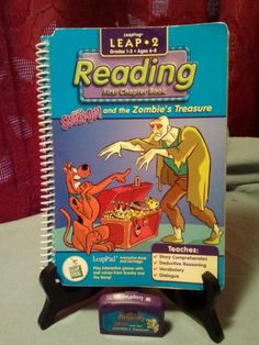 Leap Frog, Leap 2, Scooby-Doo Zombies Treasure Reading book & cartridge in Toys & Hobbies | eBay
